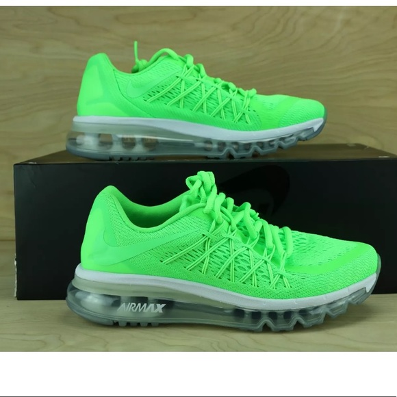Nike Airmax 2015 GS Voltage Green Kids Youth